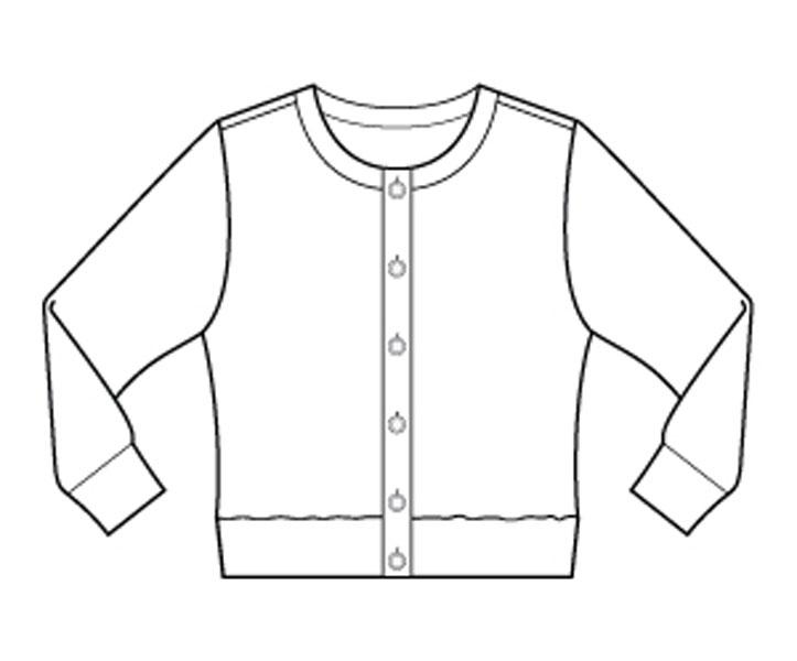 Digital Lisbon Cardigan Sewing Pattern Shop Oliver S