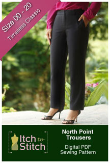 digital north point trousers sewing pattern
