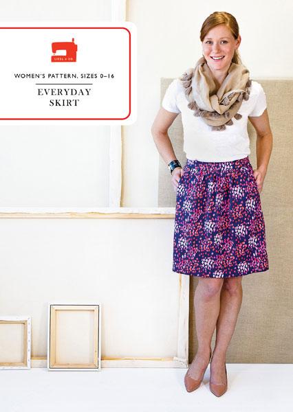 Digital Everyday Skirt Sewing Pattern Shop Oliver S