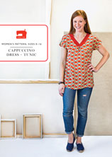 digital cappuccino dress + tunic sewing pattern