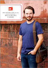 digital men's metro t-shirt sewing pattern