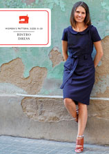 bistro dress sewing pattern
