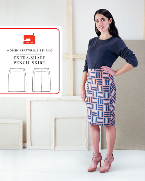 Extra-sharp Pencil Skirt Sewing Pattern   Shop   Oliver + S
