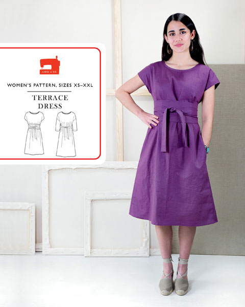 Terrace Dress Sewing Pattern | Shop | Oliver + S