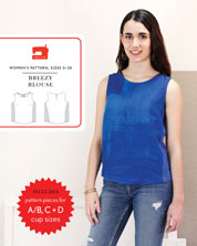 breezy blouse sewing pattern