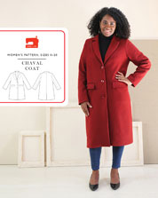 digital chaval coat sewing pattern