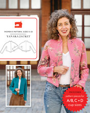 digital yanaka jacket sewing pattern