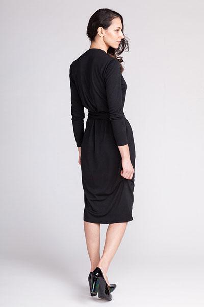 Digital Olivia Jersey Wrap Dress Sewing Pattern | Shop | Oliver + S