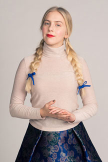 digital paola turtleneck tee sewing pattern