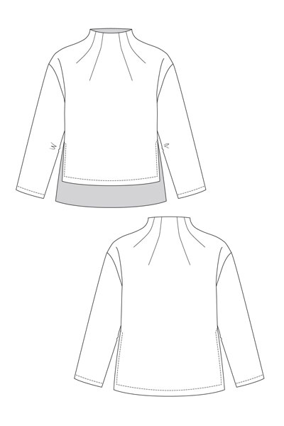 Digital Talvikki Sweater Sewing Pattern   Shop   Oliver + S