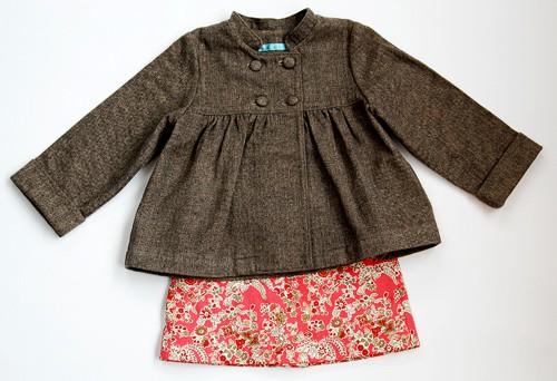 Digital Sunday Brunch Jacket A Line Skirt Sewing Pattern Shop
