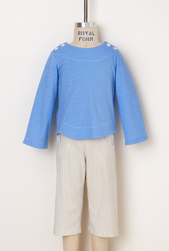 Digital Sailboat Top, Skirt + Pants Sewing Pattern   Shop   Oliver + S