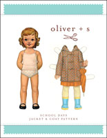 digital school days jacket + coat sewing pattern