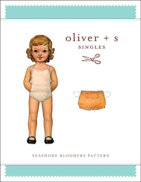 Digital Seashore Bloomers Sewing Pattern | Shop | Oliver + S