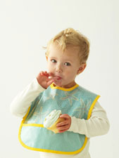 digital messy kid bib sewing pattern