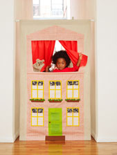 digital puppet theater sewing pattern