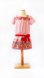 digital croquet dress sewing pattern