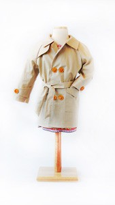 secret agent trench coat sewing pattern