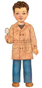 digital secret agent trench coat sewing pattern