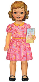 digital fairy tale dress sewing pattern