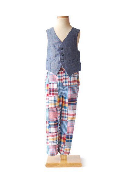 Art Museum Vest + Trousers Sewing Pattern   Shop   Oliver + S