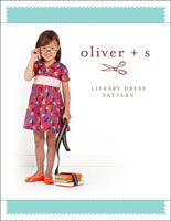 library dress sewing pattern