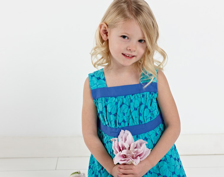 Digital Garden Party Dress + Blouse Sewing Pattern | Shop | Oliver + S