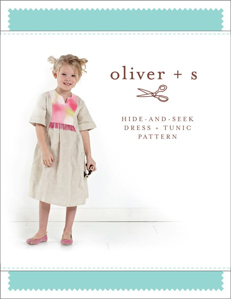 Hide-and-seek Dress + Tunic Sewing Pattern | Shop | Oliver + S