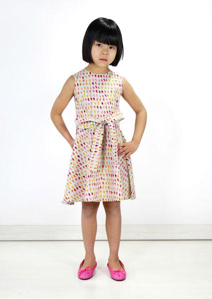 Digital Cartwheel Wrap Dress Sewing Pattern | Shop | Oliver + S
