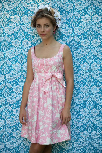 digital carolina mae dress sewing pattern