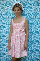 digital carolina mae dress sewing pattern