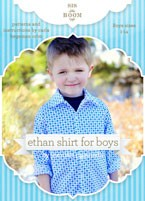 digital ethan shirt sewing pattern