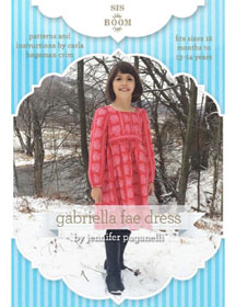 digital gabriella fae dress sewing pattern