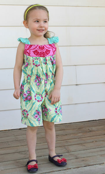 Digital Jeanine Jumper Sewing Pattern | Shop | Oliver + S
