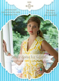 digital jenny dress sewing pattern