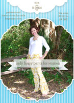 digital judy fancy pants sewing pattern