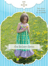 digital kelsey dress + top sewing pattern