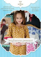 digital leighanna peasant dress sewing pattern