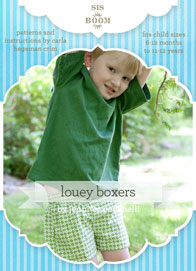 digital louey boxer short sewing pattern
