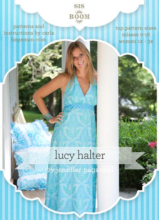 Digital Lucy Halter Dress Sewing Pattern | Shop | Oliver + S
