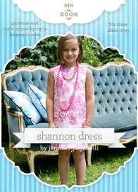 digital shannon shift dress sewing pattern