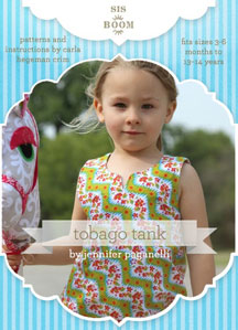 digital tobago tank sewing pattern