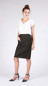 digital alberta street pencil skirt sewing pattern
