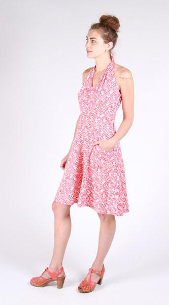 Digital Rose City Halter Dress Sewing Pattern Shop Oliver S