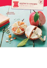 digital apples to oranges sewing kit sewing pattern
