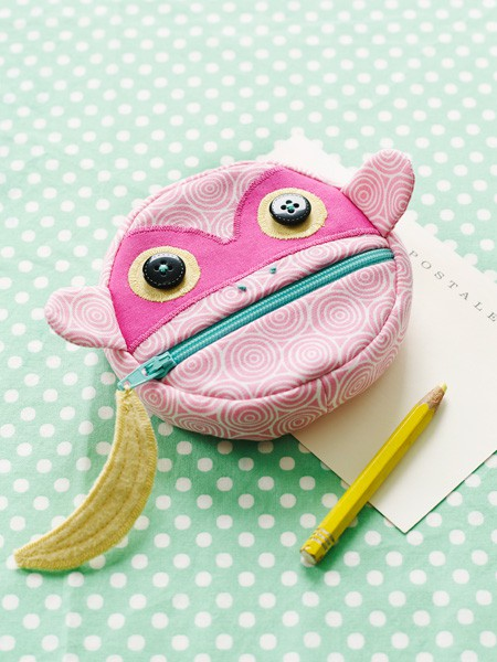 Feed The Animals Coin Purses Sewing Pattern | Shop | Oliver + S