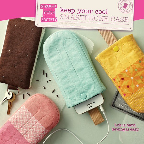 Digital Keep Your Cool Smartphone Case Sewing Pattern | Shop ...