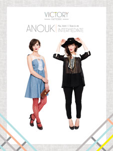digital anouk sewing pattern