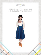 digital madeleine sewing pattern