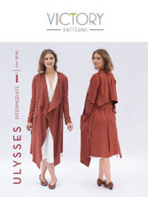 digital ulysses trench sewing pattern